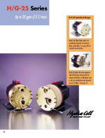 H25 Hydra-Cell Pump catalog pages