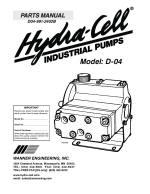 D04 high pressure coolant pump parts manual