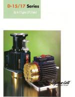catalog pages for D15 coolant pump