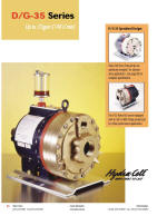 D35 coolant pump catalog pages