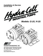 H25 Installation, Operation, Maintenance Manual